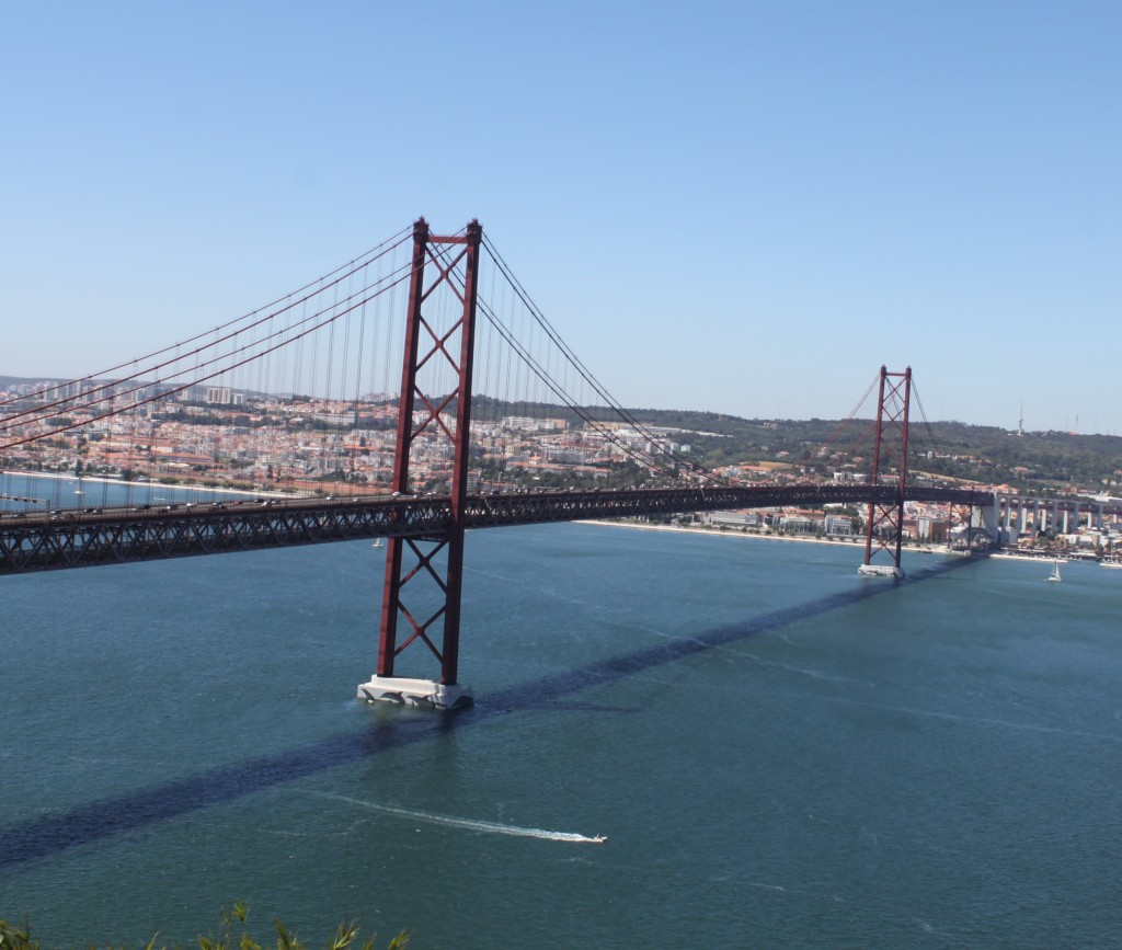 Golden Gate in Lisbon
