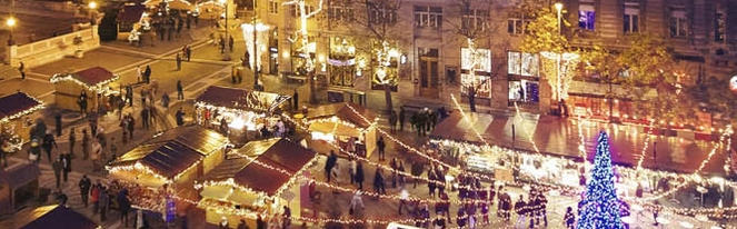 There are no Christmas markets in Lisbon like this one (picture from Budapest)