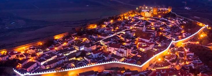 Obidos is a small village that turns into a Christmas village before Christmas.