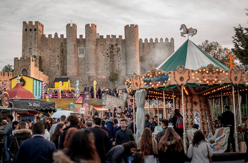 The Obidos Christmas Village